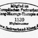 Klangmassage Therapie e.V. Mitglied