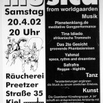 """Music from Worlgaarden"", Kiel 20.04.2002"